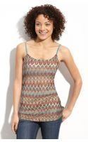 Wallpapher Patterned Layering Camisole (juniors)