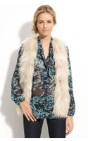 Juicy Couture Polar Faux Fur Vest - Lyst
