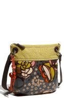 Fossil Key-per Coated Canvas Crossbody Bag