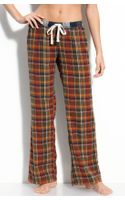 Make + Model Flannel Pants - Lyst