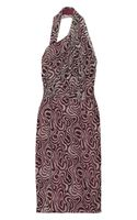 Martin Grant Asymmetric Printed Silk Dress - Lyst