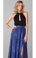 Rachel Zoe Farrow Bow Halter Top