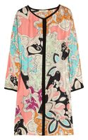 Etro Printed Silk Tunic-dress - Lyst