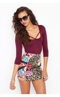 Nasty Gal Cutout Scoop Top - Lyst