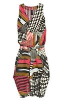 Zero + Maria Cornejo Zazi Tribal-Print Linen Dress - Lyst