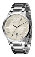 Emporio Armani Stainless Steel Bracelet Watch - Lyst
