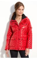 Calvin Klein Quilted Jacket with Detachable Hood