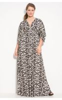 Rachel Pally White Label Long Caftan Dress - Lyst