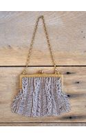 Free People Vintage Evening Beaded Bag