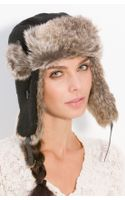 Big Buddha Faux Fur Trapper Hat - Lyst