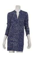 Tibi Polka Dot Shirt Dress - Lyst