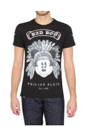 Philipp Plein Bad Boy Swarovski Jersey T-shirt
