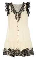 Alice By Temperley Vanita Lace And Silk-Chiffon Dress - Lyst
