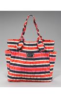 Marc By Marc Jacobs Medium Pretty Nylon Tate Tote, Striped