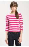 Juicy Couture Sleeve Striped Sweater - Lyst