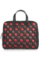 Marni Woven Leather Tote