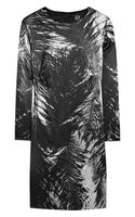 McQ by Alexander McQueen Printed Stretch Silk-satin Dress