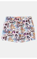 Ted Baker Digital Print Swim Shorts - Lyst