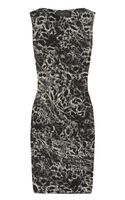 La Petite Salope Printed Stretch Linen-blend Dress - Lyst