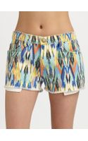 Current/Elliott Boyfriend Shorts - Lyst