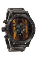 Nixon The 5130 Chrono Tigerseye Watch
