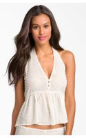 Zinke Zinke First Kiss Babydoll Top - Lyst