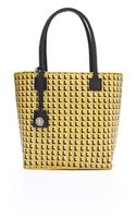 Tory Burch Basket Weave Straw Small Tote - Lyst
