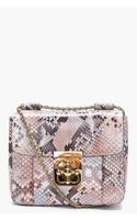 Chloé Python Skin Elsie Evening Bag
