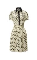 Pussycat Pussycat Dog Print Shirt Dress - Lyst