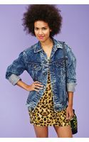 Nasty Gal Stone Wash Denim Jacket