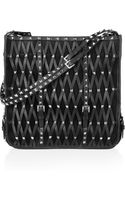 Valentino Studded Leather Shoulder Bag - Lyst