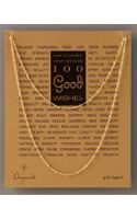 Dogeared 100 Good Wishes Necklace