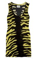 Alice By Temperley Tiger Print Jersey Tank - Lyst
