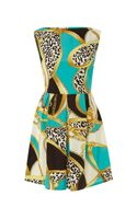Ax Paris Ax Paris Chain Print Sleeveless Dress