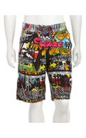 Robert Graham Coracle Boardshorts - Lyst