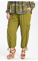 Xcvi Wearables Sequoia Crop Cargo Pants