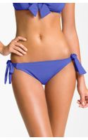 Betsey Johnson Cake Pop Side Tie Hipster Bikini Bottoms - Lyst