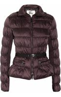 Burberry Belted Hooded Padded Shell Jacket
