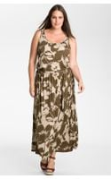 Michael by Michael Kors Sleeveless Knit Maxi Dress