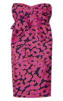 See By Chloé Printed Silkorganza Dress