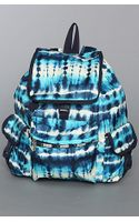 Lesportsac The Voyager Backpack in Tie Dye