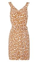 Marc By Marc Jacobs Leopardprint Silk Dress - Lyst
