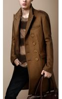 Burberry Brit Wool Blend Chesterfield Coat - Lyst