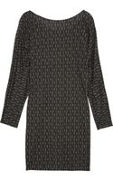 Thakoon Addition Printed Jersey Dress