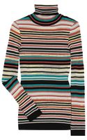 M Missoni Striped Midweight Knit Sweater
