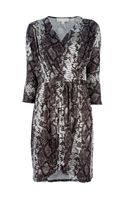 Michael by Michael Kors Snake Print Dress
