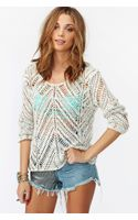 Nasty Gal Chelsea Knit Cream