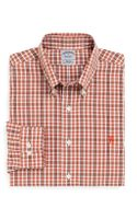 Brooks Brothers Noniron Slim Fit Tonal Double Tattersall Sport Shirt