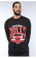 Mitchell & Ness The Chicago Bulls Sweatshirts in Black