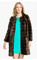 Kate Spade Rossalyn Faux Fur Coat